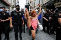 Pride parade banned in Istanbul