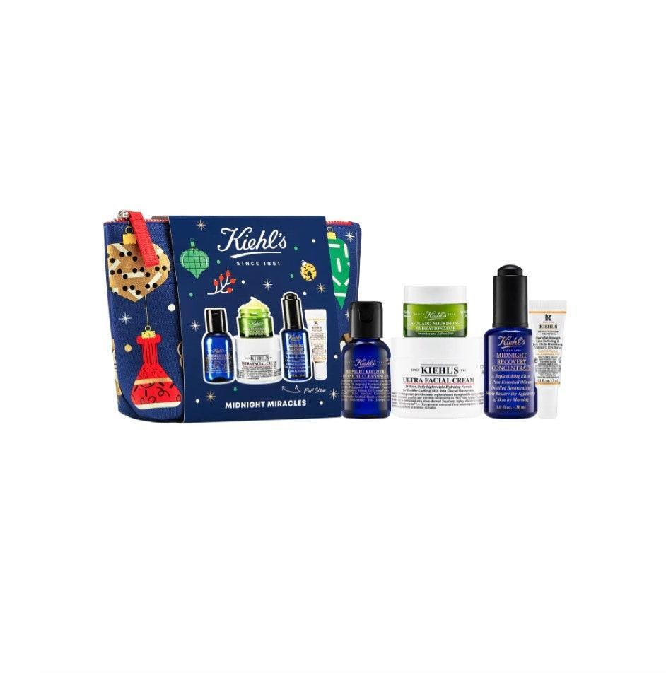"$78, Nordstrom. <a href=""https://www.nordstrom.com/s/kiehls-since-1851-midnight-miracles-set-usd-111-value/5690362?origin=category-personalizedsort&breadcrumb=Home%2FSale%2FBeauty&color=none"" rel=""nofollow noopener"" target=""_blank"" data-ylk=""slk:Get it now!"" class=""link rapid-noclick-resp"">Get it now!</a>"