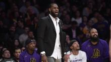 Report: Agent says LeBron James would be playing right now if it were the playoffs