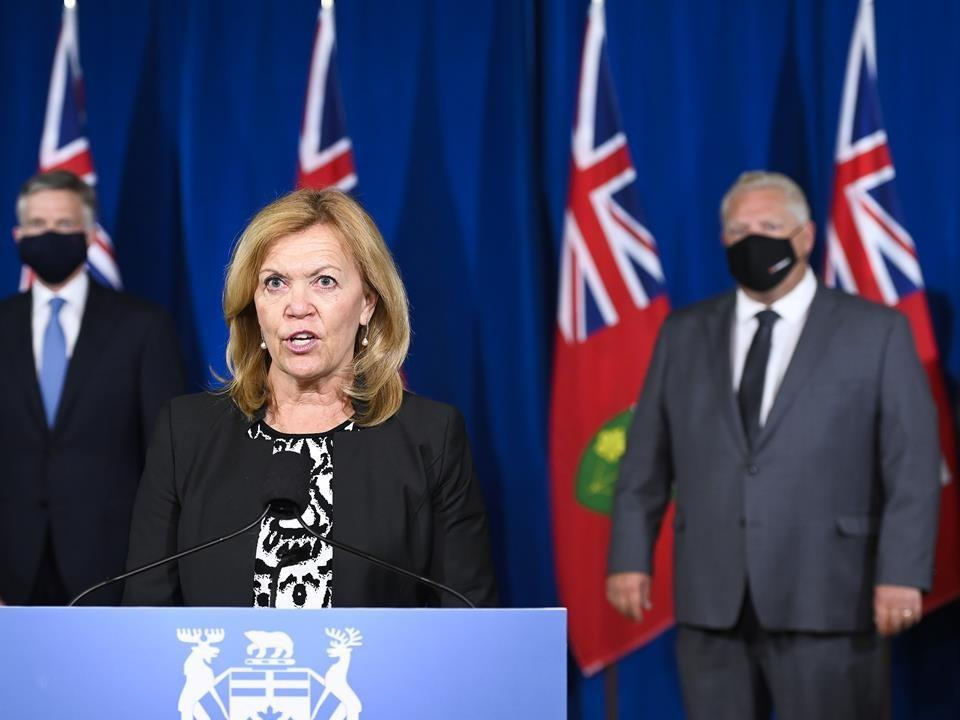 Ontario Reports 1 249 New Covid 19 Cases Today And 12 New Deaths From The Virus