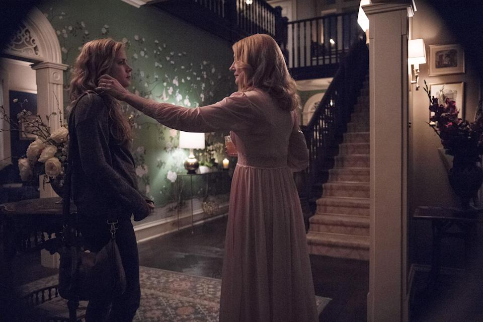 Amy Adams as Camille Preaker and Patricia Clarkson as Adora Crellin in <em>Sharp Objects. </em>(Photo: HBO)