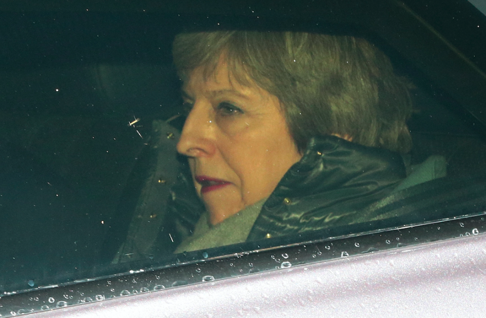 <em>Mrs May's EU deal has been voted down by MPs twice already (Getty)</em>