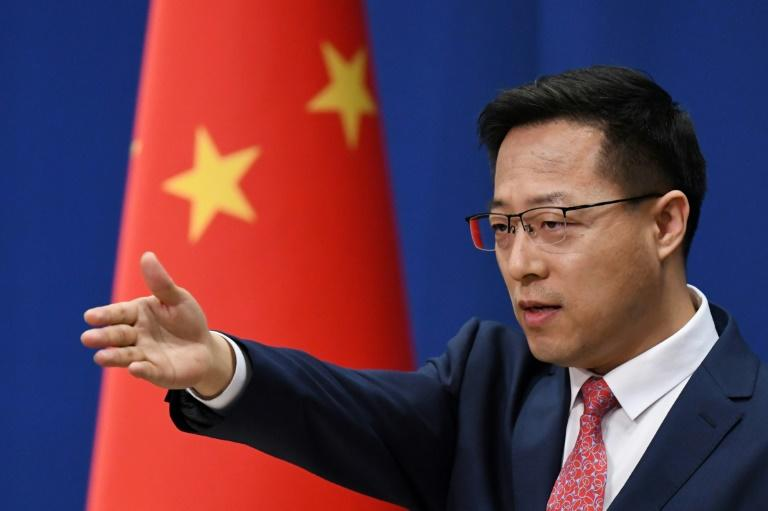 Chinese foreign ministry spokesman Zhao Lijia, addressing reporters here in April 2020, has strongly criticized the US record on race