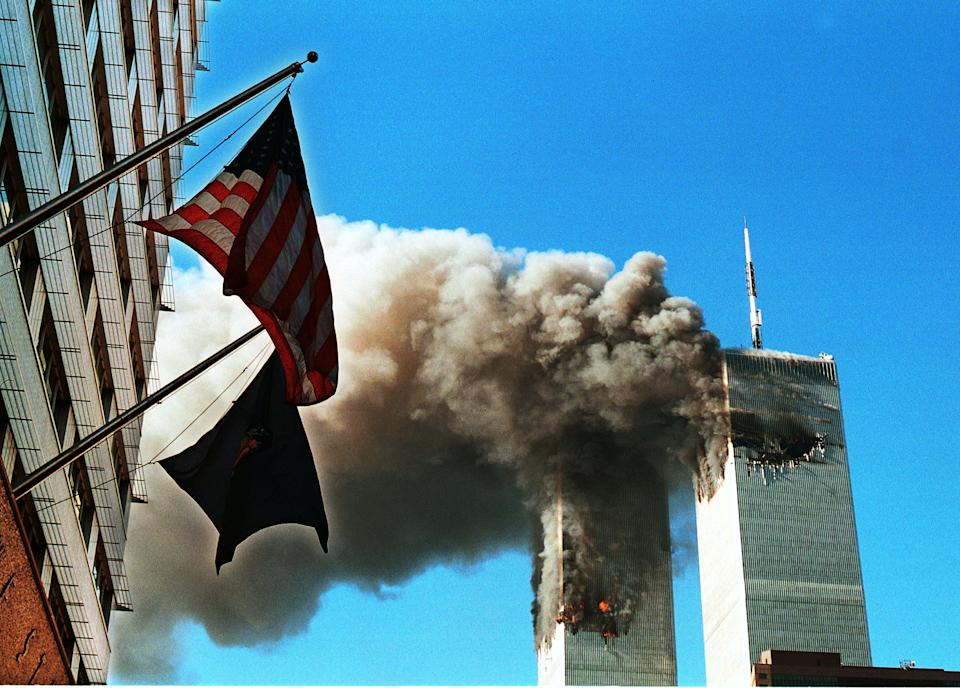 """<p>It's been 20 years since the the 9/11 terrorist attacks that shook, and changed, the world. </p><p>At 8:46am on 11 September 2001, a plane flew into the North Tower of the World Trade Center in New York, killing the 76 passengers and 11 crew members on board instantly. While at first the media and onlookers believed what was happening to be an accident, it soon became clear this was a targeted terror attack. Just seventeen minutes after the first plane hit, the South Tower was also hit by a hijacked plane at 9:03am.</p><p>The Towers were quickly engulfed in flames, only made worse by the plane's jet fuel. Frantic workers tried to escape the burning buildings, while some made phone calls to loved ones to say goodbye. After burning for nearly an hour, the South Tower collapsed at 9:59am, followed by the North Tower at 10:28am.</p><p>As the horrific events unfolded at the World Trade Center, al-Qaeda extremists claimed responsibility for the attack. And, at 9:37am, a third plane crashed into the government's Pentagon building near Washington, killing all 64 passengers aboard and 125 in the building.</p><p>A further 44 passengers were killed on a fourth hijacked plane, although according to a <a href=""""https://govinfo.library.unt.edu/911/report/911Report_Ch1.pdf"""" rel=""""nofollow noopener"""" target=""""_blank"""" data-ylk=""""slk:report"""" class=""""link rapid-noclick-resp"""">report</a> issued many years later, those onboard overpowered the terrorists and diverted the plane away from its intended target, thought to be the White House or the US Capitol. The plane crashed into a field in Pennsylvania at 10:03am.</p><p>The four attacks that took place on September 11 killed nearly 3000 people, and more than 2000 first responders who worked on the site have since died from cancers believed to be linked to 9/11. In the aftermath of the attacks, volunteers and rescue workers spent the next nine months sifting through the debris to search for survivors, recover bodies and clean up the wreckage. """