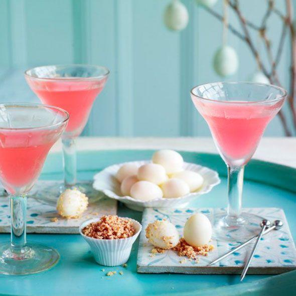 """<p>A martini with a twist for a sunny day – just add rhubarb syrup.<br><br><strong>Recipe: <a href=""""https://www.goodhousekeeping.com/uk/food/recipes/rhubarb-martinis"""" rel=""""nofollow noopener"""" target=""""_blank"""" data-ylk=""""slk:Rhubarb martini"""" class=""""link rapid-noclick-resp"""">Rhubarb martini</a></strong><br></p>"""