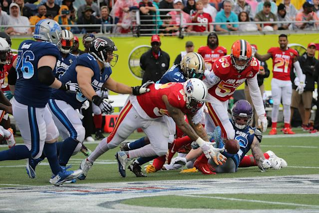The Pro Bowl featured a late comeback that made a big difference for bettors. (Getty Images)