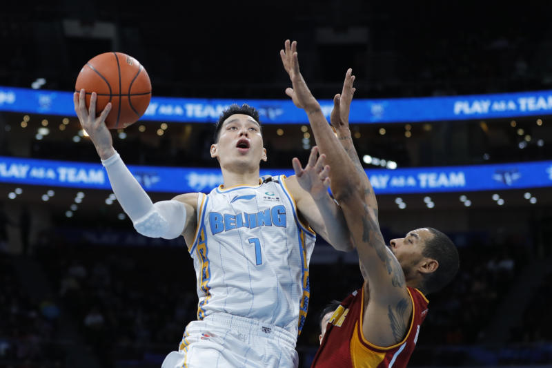 After making the 40-hour trek back to Beijing, Jeremy Lin will spend the next two weeks in quarantine before the Chinese Basketball Association starts back up.
