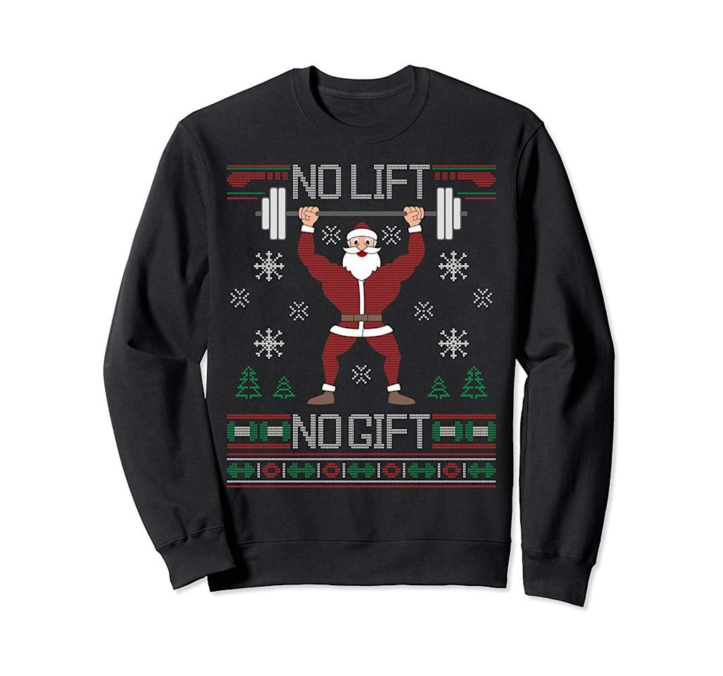 These Ugly Christmas Sweatshirts Will Make You The Most Popular