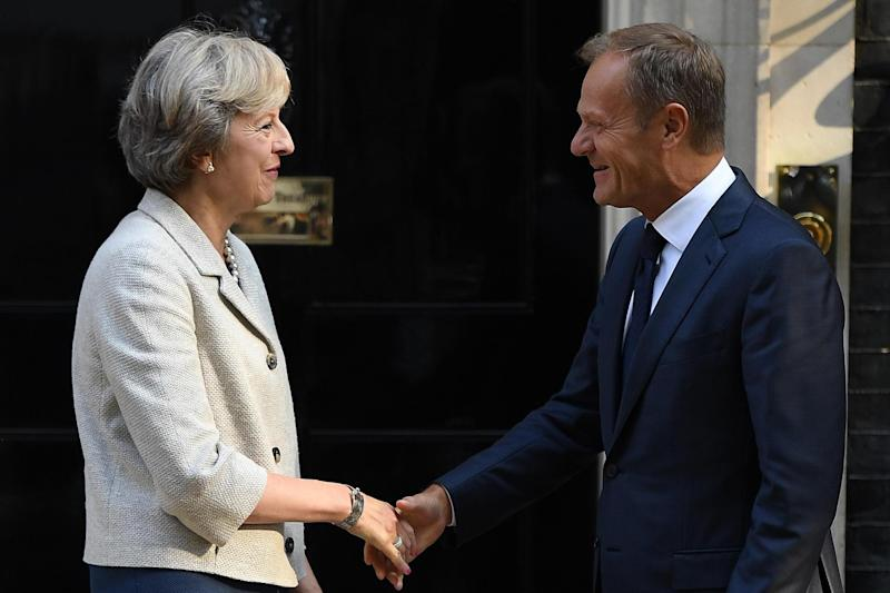 Economic forces will matter far more than the opinions of politicians like May and Tusk: Getty