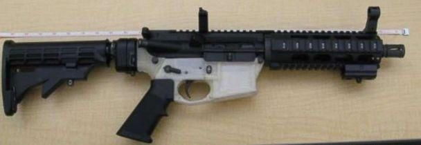 PHOTO: A gun printed by a 3D printer. (Courtesy U.S. Attorney for the Northern District of Texas)