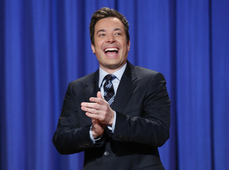 First night for 'Tonight Show' host Jimmy Fallon