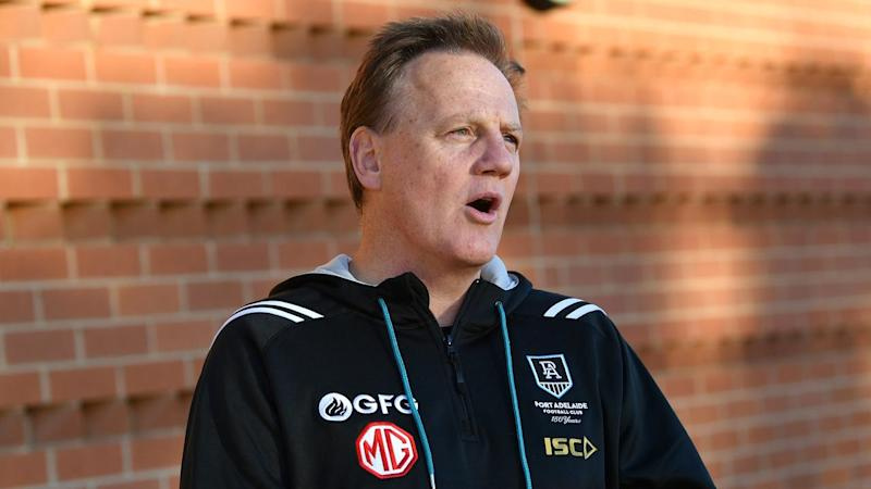 Port Adelaide CEO Keith Thomas is seeking urgent answers from the AFL in regards to cost-cutting