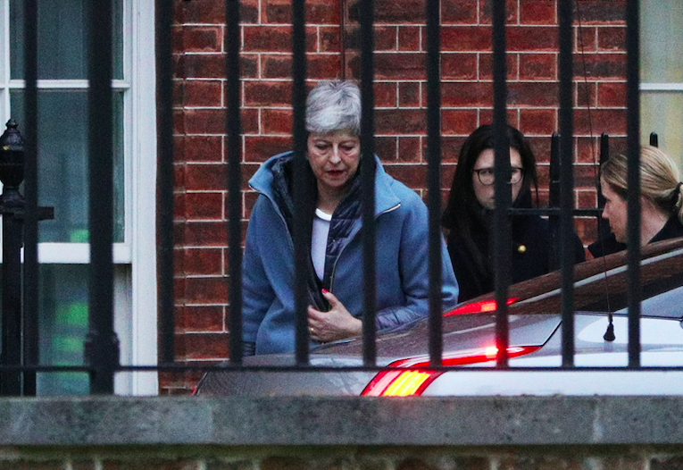 <em>Mrs May is heading to Brussels to seek more time to sort Brexit (Getty)</em>
