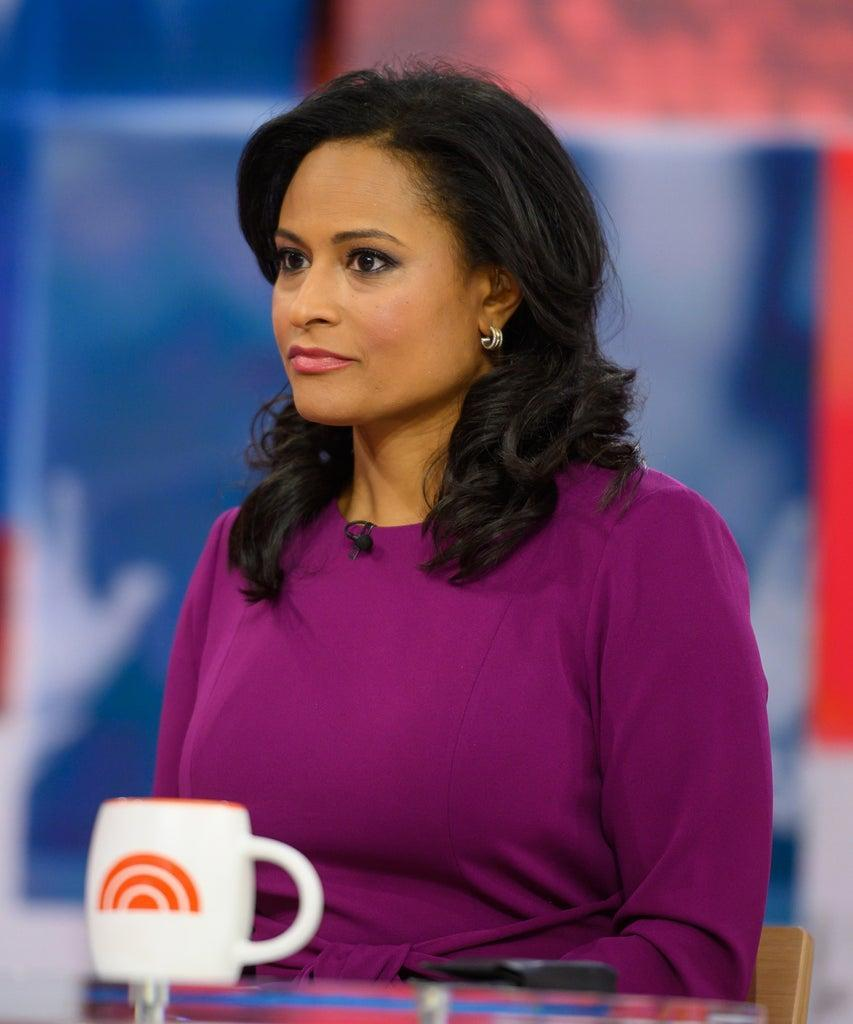 TODAY — Pictured: Kristen Welker on Friday, January 10, 2020 — (Photo by: Nathan Congleton/NBC/NBCU Photo Bank via Getty Images)