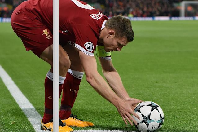 James Milner has created the most goals in the Champions League so far this season.