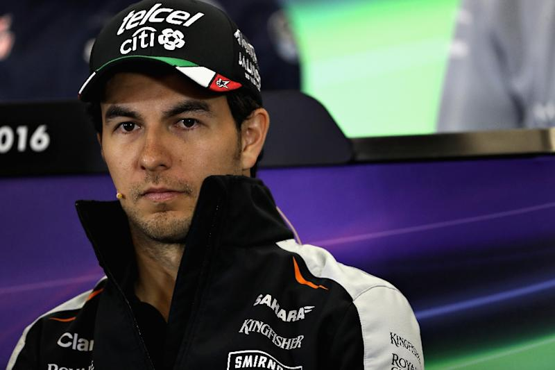 Mexican Formula One driver Perez sponsor creates charity after Trump ...