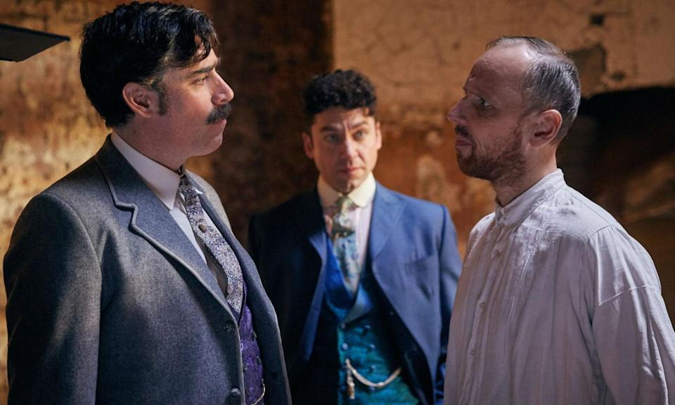 "<p>ITV drama <em>Houdini & Doyle</em> focused on the real-life friendship of Harry and Arthur and in the 2016 episode ""Bedlam,"" Bremner plays a mental patient who believes he is Sherlock Holmes. </p>"