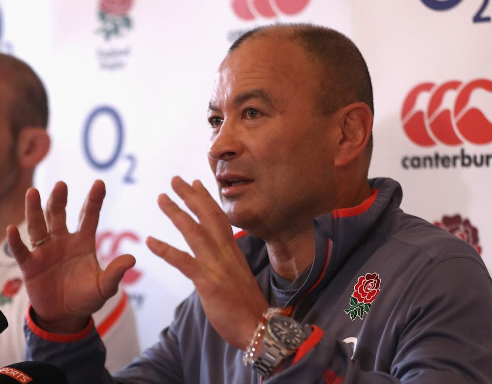 Eddie Jones has stressed the importance of winning consecutive Grand Slams to his squad: Getty