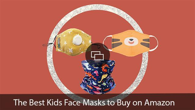 best kids face masks on amazon Amazon; Glitter: BudaiRomi/Shutterstock