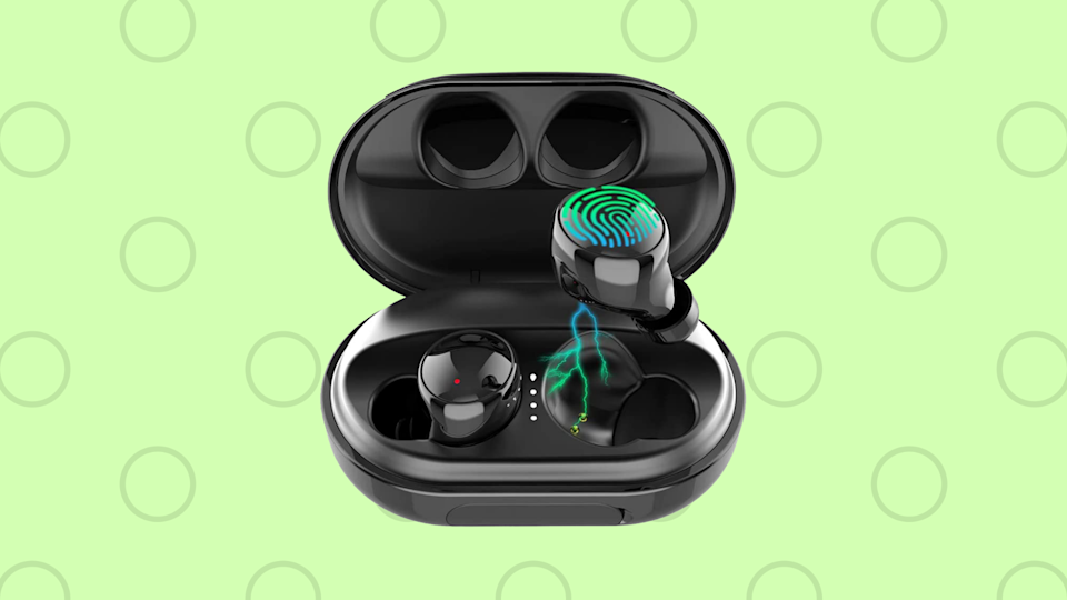 Save $102 on these wallet-friendly wireless earbuds. (Photo: Amazon)