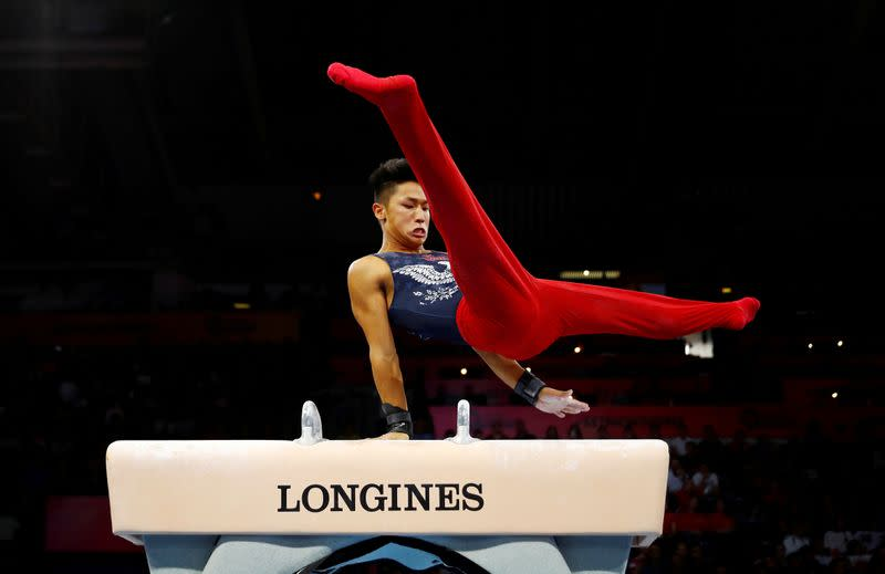 FILE PHOTO: 2019 World Artistic Gymnastics Championships