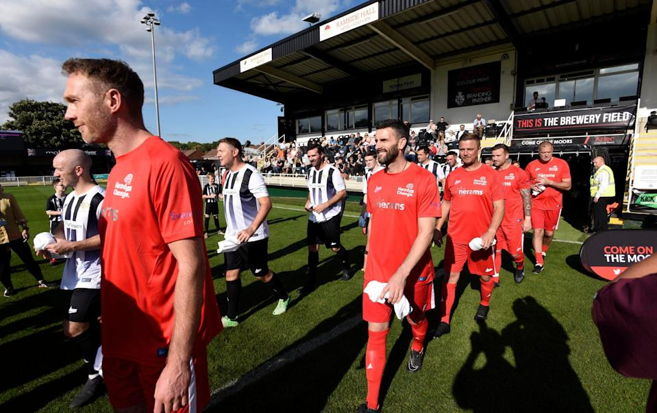 The Head for Change and the Solan Connor Fawcett Trust charity match at Spennymoor Town FC provided a potential glimpse into the future - GUZELIAN