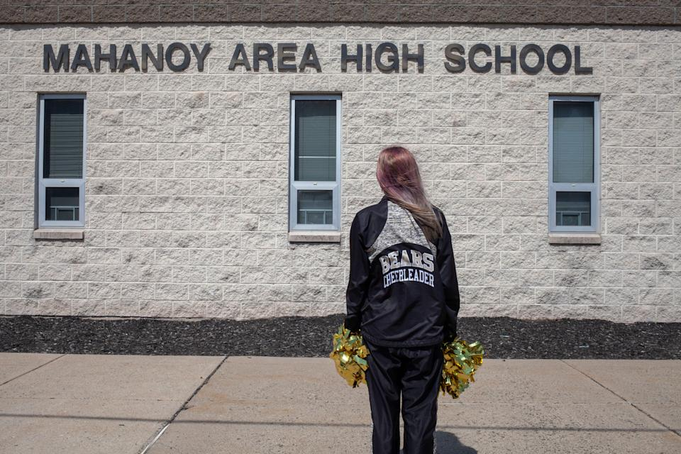 Brandi Levy was kicked off the cheerleading squad at Mahanoy Area High School in Pennsylvania after posting a profanity-laced complaint on Snapchat. The Supreme Court decided her f-bombs were protected free speech.