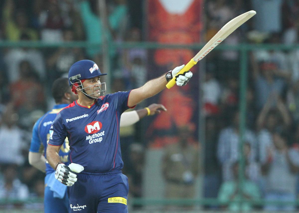 during match 28 of the Pepsi Indian Premier League between The Delhi Daredevils and the Mumbai Indians  held at the Feroz Shah Kotla Stadium, Delhi on the 21st April 2013. (BCCI)