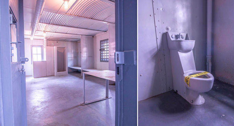A look inside one of the cells in the Missouri jail house.