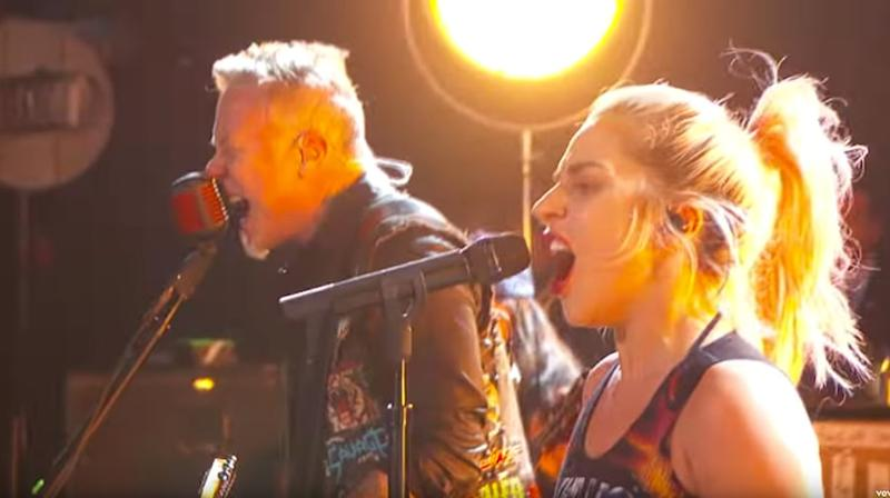 See Lady Gaga, Metallica's Flawless 'Moth Into Flame' Grammy Rehearsal Video