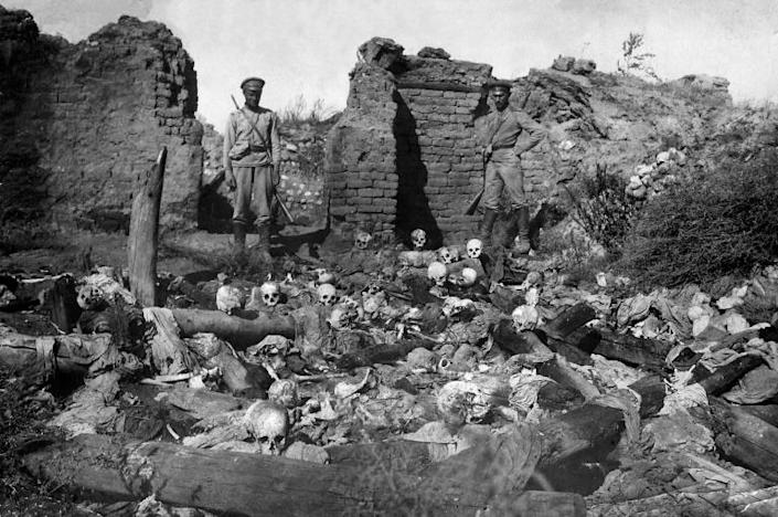 Armenians say 1.5 million of their people died under the Ottoman Empire from 1915-1917 (AFP Photo/STR)