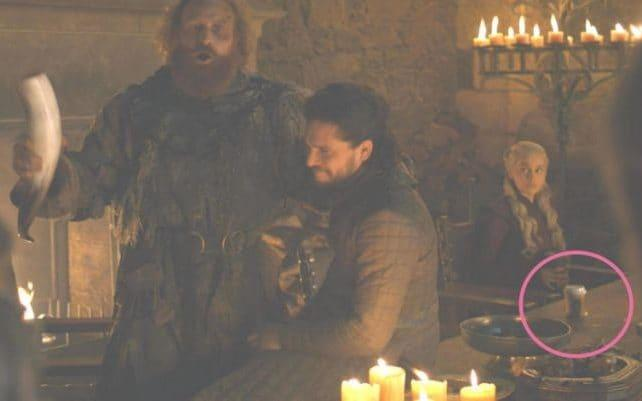 A Starbucks cup in the last episode of Game of Thrones - HBO