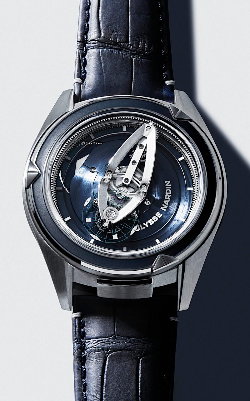 Ulysse Nardin Freak Vision in platinum, price on request, watches-of-switzerland.co.uk - Philippe Fragniere
