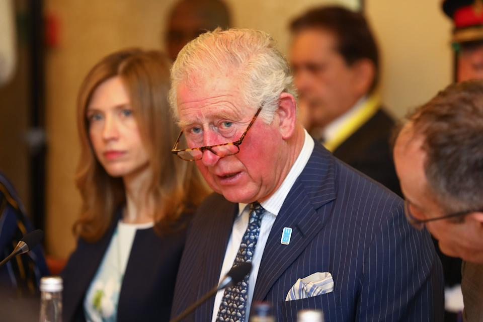 LONDON, ENGLAND - MARCH 10: Prince Charles, Prince of Wales attends the WaterAid water and climate event at Kings Place on March 10, 2020 in London, England.  The Prince of Wales has been President of WaterAid since 1991. (Photo by Tim P. Whitby - WPA Pool/Getty Images)