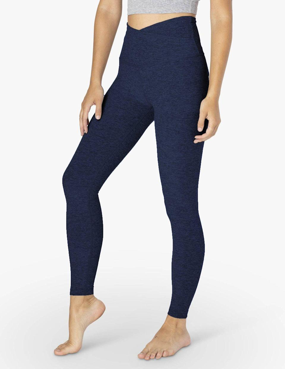 "<p>beyondyoga.com</p><p><strong>$99.00</strong></p><p><a href=""https://beyondyoga.com/collections/best-selling-leggings/products/spacedye-at-your-leisure-high-waisted-midi-legging-nocturnal-navy-sd3463?variant=32850843598947"" rel=""nofollow noopener"" target=""_blank"" data-ylk=""slk:Shop Now"" class=""link rapid-noclick-resp"">Shop Now</a></p>"