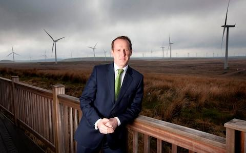 Keith Anderson, CEO of Scottish Power - Credit: Chris James