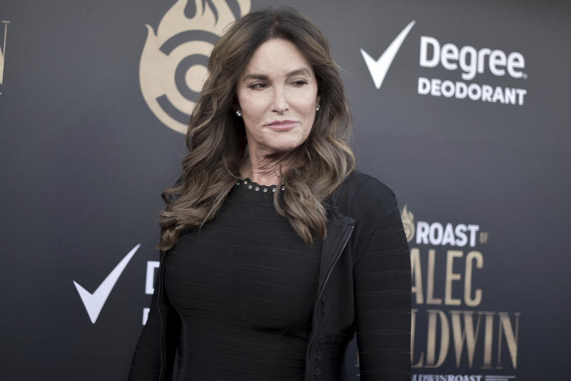 Caitlyn Jenner attends the Comedy Central roast of Alec Baldwin at the Saban Theatre on Saturday, Sept. 7, 2019, in Beverly Hills, Calif. (Photo by Richard Shotwell/Invision/AP
