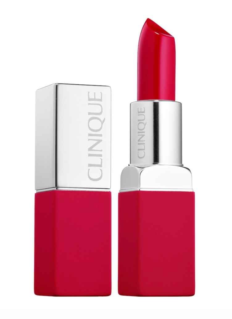 """<h3><h2>Clinique Pop Matte Lip Colour + Primer in Peppermint Pop</h2></h3><br>Peppermint Pop makes me think of Christmas, so to wear this shade after the month of December feels... <em>wrong</em>? But lipsticks aren't reserved for one month out of the year, so I gave this petite classic a try. <br><br><strong>Clinique</strong> Pop Matte Lip Colour + Primer, $, available at <a href=""""https://go.skimresources.com/?id=30283X879131&url=https%3A%2F%2Fwww.sephora.com%2Fproduct%2Fpop-matte-lip-colour-primer-P410815%3FskuId%3D1860154"""" rel=""""nofollow noopener"""" target=""""_blank"""" data-ylk=""""slk:Sephora"""" class=""""link rapid-noclick-resp"""">Sephora</a>"""