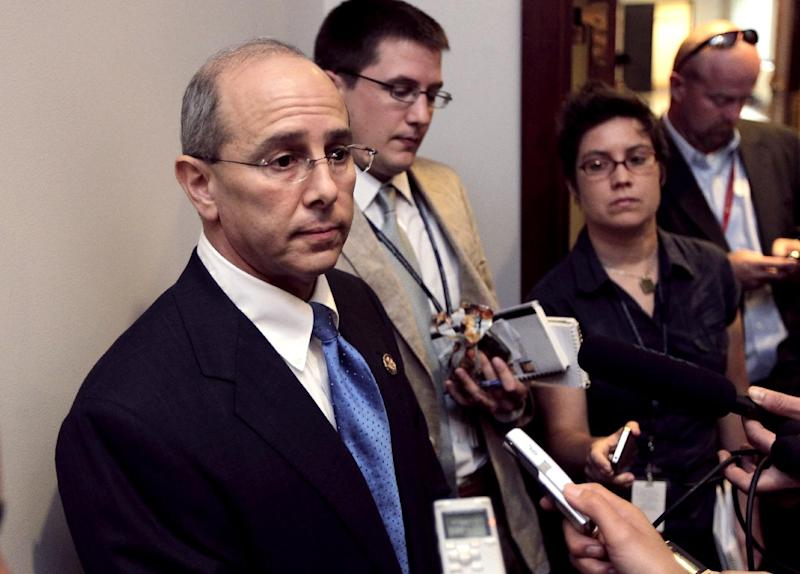 FILE - In this July 21, 2011 file photo House Ways and Means Oversight subcommittee Chairman Rep. Charles Boustany, R-La., speaks on Capitol Hill in Washington.  It was a curious offer to contractors from a government agency: We'll give you a tax deduction for making federal buildings more energy efficient if you qualify and if you'll write us a check for 19 percent of the tax break's value.The General Services Administration (GSA), already under a cloud for a lavish Las Vegas employee conference, says that after seven months, it dropped its demand for the giveback requirement because there were no takers.  (AP Photo/J. Scott Applewhite, File)