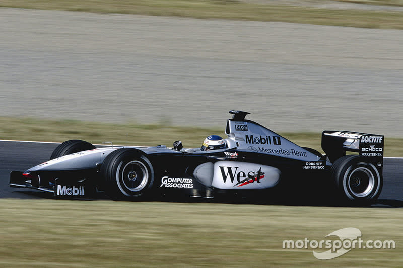 "1999: McLaren-Mercedes MP4/14<span class=""copyright"">LAT Images</span>"