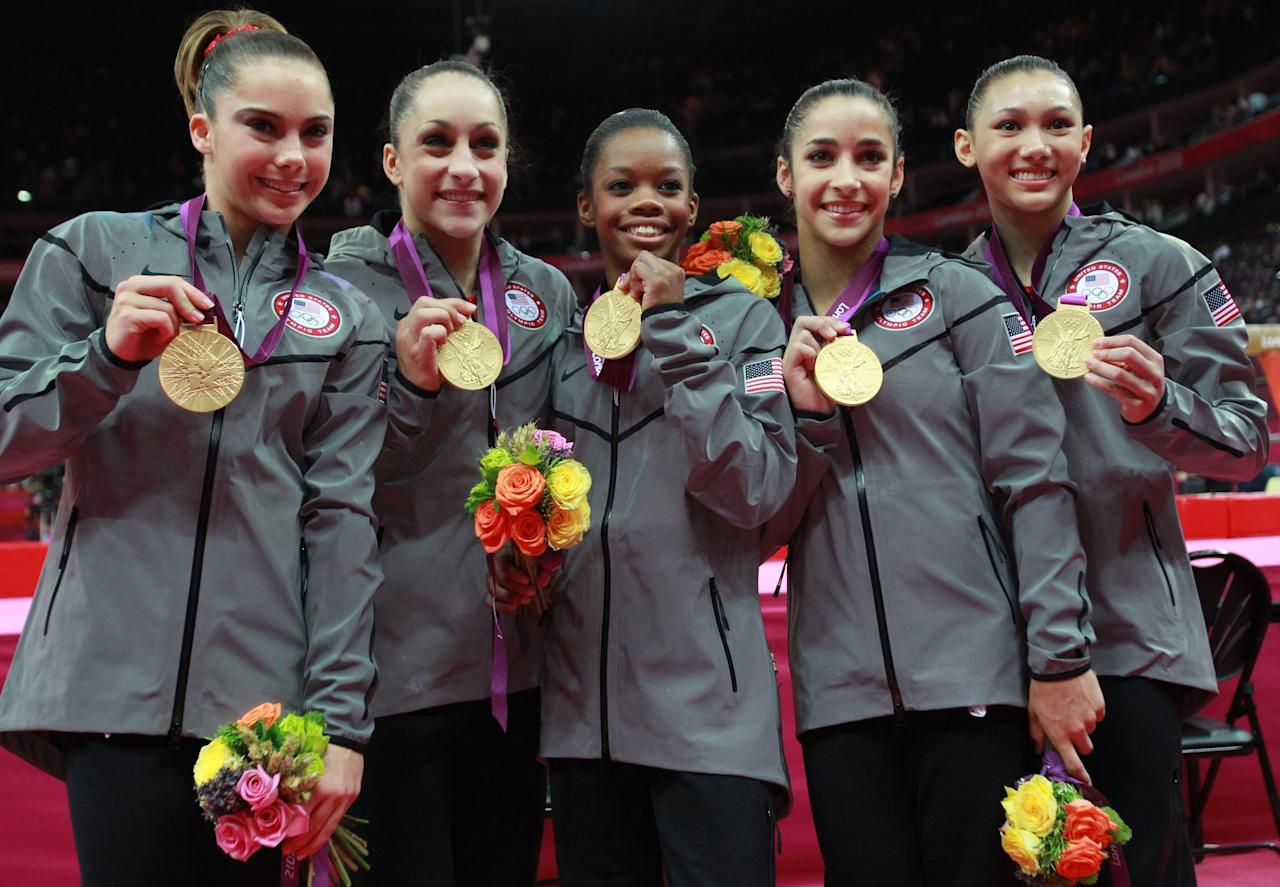 <p>The Fierce Five won the gold and our hearts back in 2012, but where are they now? (Getty) </p>