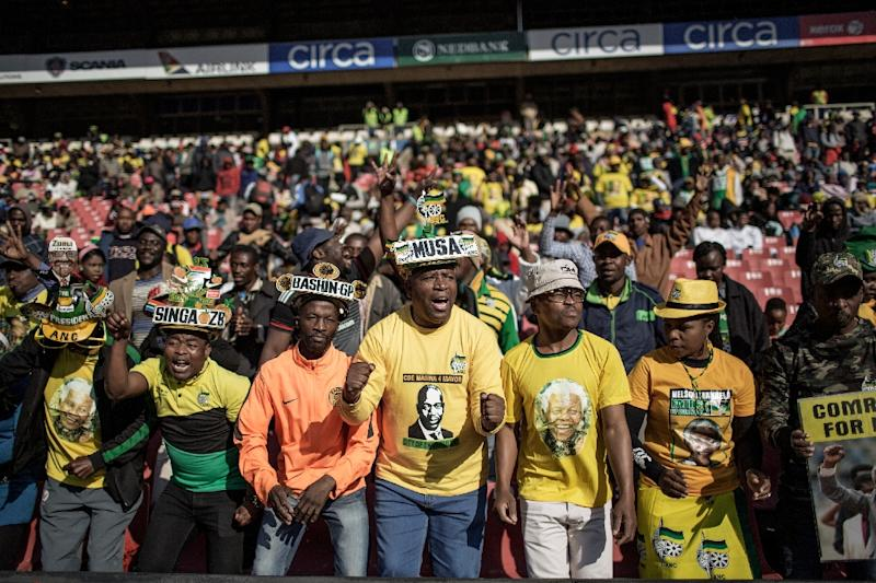 In August, the ANC suffered its worst showing in local elections since it first came to power after the end of apartheid two decades ago (AFP Photo/Gianluigi Guercia)