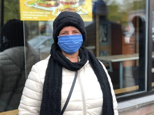 Musarrat Jabeen, 55, says she found out about the vaccination clinic thanks to flyers distributed by the Park Extension Round Table, a community organization.