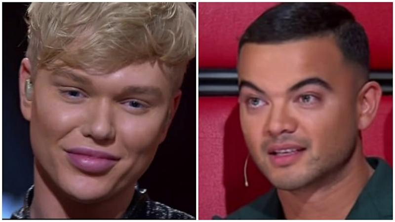 The Voice coach Guy Sebastian copped criticism for choosing Jack Vidgen over Chriddy Black to advance to The Voice finals.