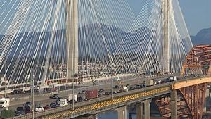 When it is completed the new Port Mann Bridge will be one of the largest of its kind in the world.