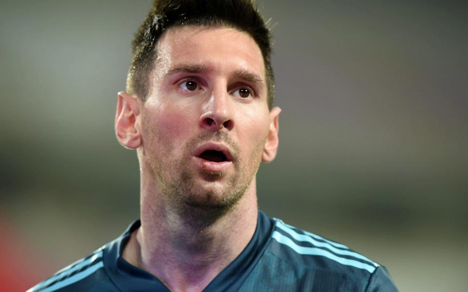 Lionel Messi -Lionel Messi 'tired' of being blamed for problems at Barcelona - REUTERS