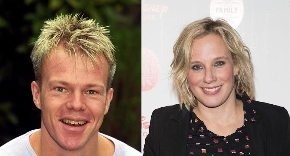 Mark Speight and Kirsten O'Brien worked together on SMart. (Photo by Ben Curtis/PA Images via Getty Images. Luca Teuchmann/WireImage)