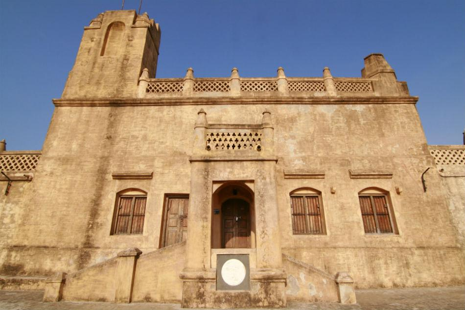 "The facade of Fort Dansborg, Tranquebar.<br><br>Read more about <a target=""_blank"" href=""http://in.lifestyle.yahoo.com/blogs/traveler/tranquebar-town-singing-waves-042732852.html"">Tranquebar</a> on the Traveler blog<br><br>Photo: Anand Yegnaswami/ <a target=""_blank"" href=""http://thegreenogre.blogspot.com"">The Green Ogre</a>"