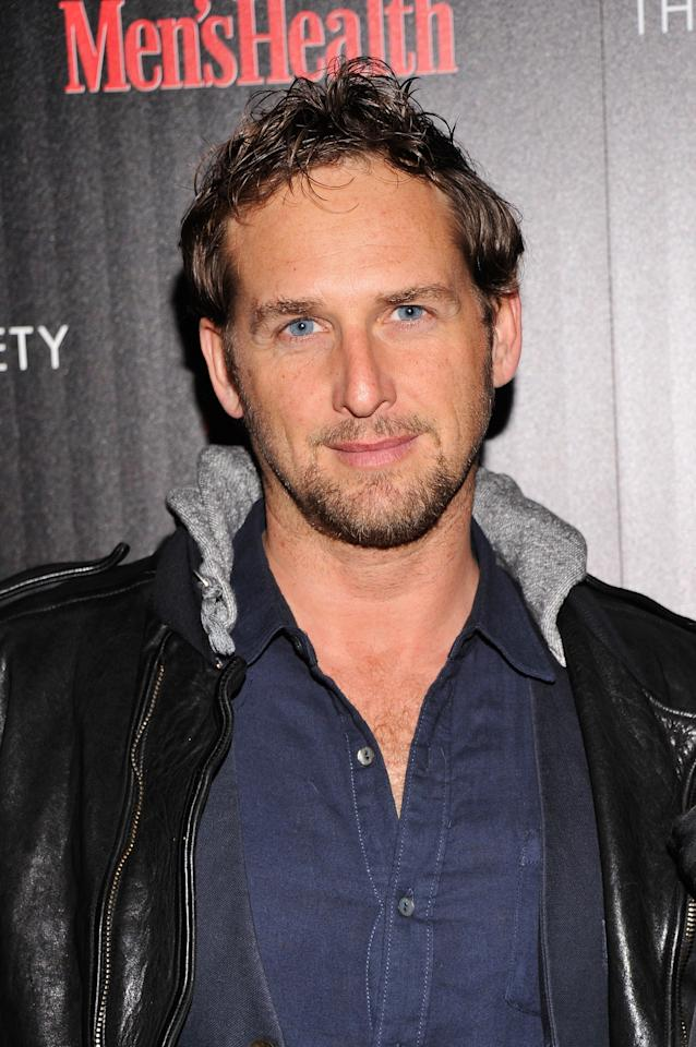 "NEW YORK, NY - NOVEMBER 26:  Actor Josh Lucas attends The Cinema Society with Men's Health and DeLeon hosted screening of The Weinstein Company's ""Killing Them Softly"" on November 26, 2012 in New York City.  (Photo by Stephen Lovekin/Getty Images)"