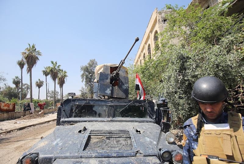 Iraqi forces launched the Mosul operation in October (AFP Photo/AHMAD AL-RUBAYE)